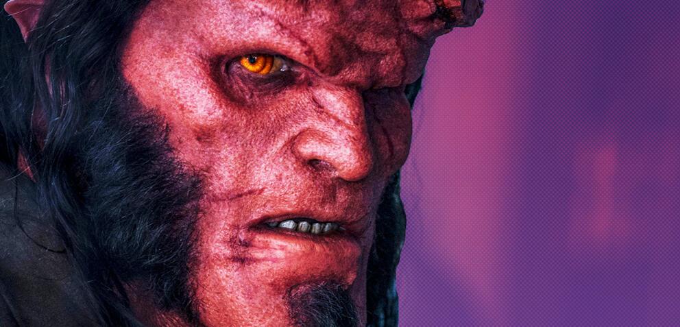 Hellboy mitDavid Harbour