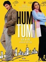 Hum Tum - Du & Ich – verrückt vor Liebe - Poster