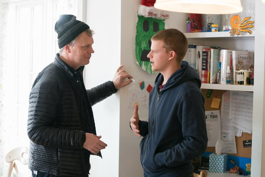 Ben is Back  mit Lucas Hedges und Peter Hedges