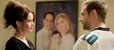 Jennifer Lawrence und BRadley Cooper in Silver Linings Playbook