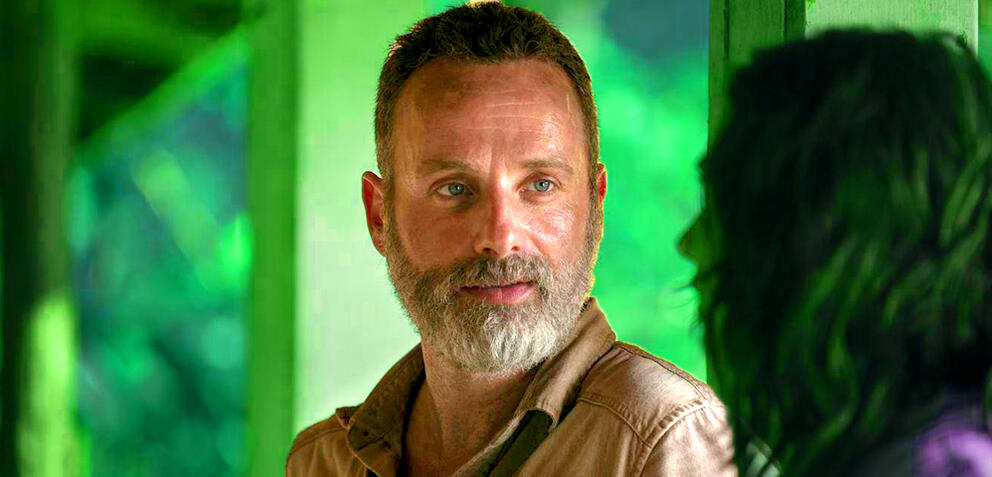 Rick (Andrew Lincoln) in The Walking Dead