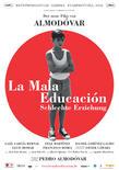 La mala educacion poster