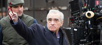 Martin Scorsese bei der Arbeit