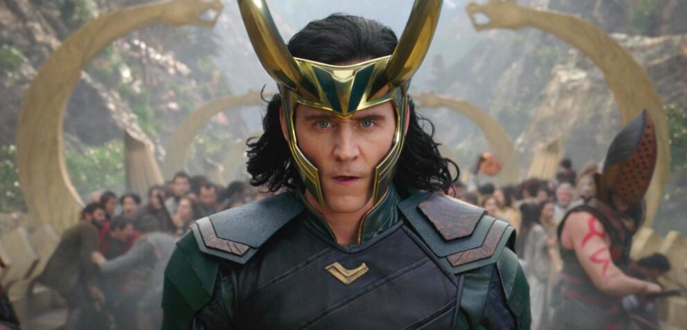 Tom Hiddleston als Loki in Thor 3: Tag der Entscheidung