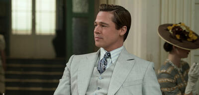 Brad Pitt in Allied