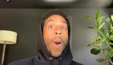 """Chris """"Ludacris"""" Bridges mit einem vielversprechenden Gesichtsausdruck"""