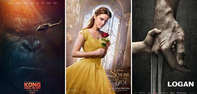Die erfolgreichsten Filme des 1. Quartals 2017