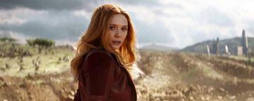 Wanda in Avengers 3: Infinity War