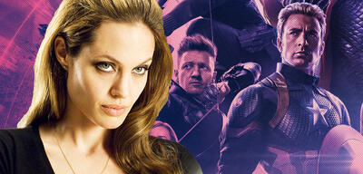 Angelina Jolie in Wanted/Avengers: Endgame
