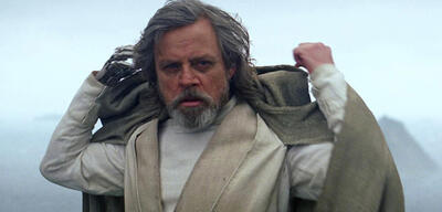 Mark Hamill als Luke Skywalker in Star Wars Episode VII