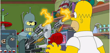 Bild zu:  Bender vs. Homer