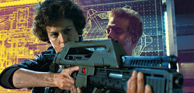 Sigourney Weaver in Alien 2