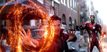 Bild zu:  Doctor Strange und Iron Man in Infinity War