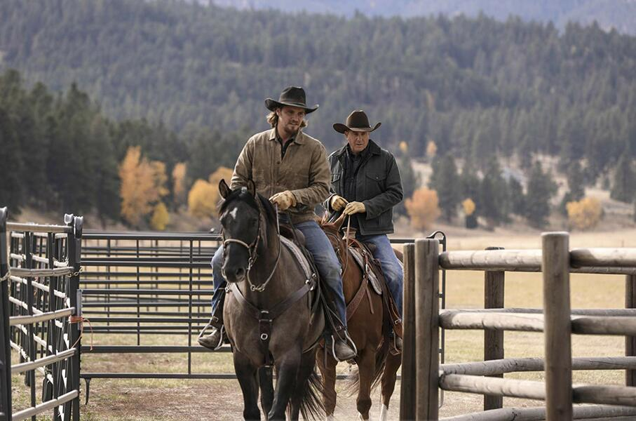 Yellowstone - Staffel 2, Yellowstone mit Kevin Costner und Luke Grimes