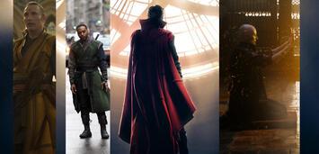 Bild zu:  Mads Mikkelsen, Chiwetel Ejiofor, Benedict Cumberbatch und Tilda Swinton in Doctor Strange