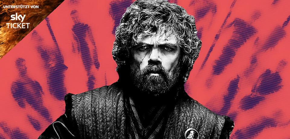Game of Thrones: Tyrion beim Lesen der Dialoge