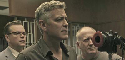 George Clooney beim Dreh vonSuburbicon