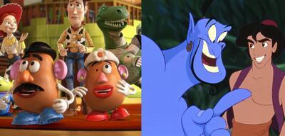Toy Story 3 & Aladdin