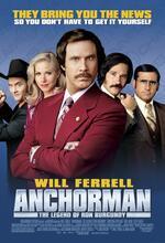 Anchorman - Die Legende von Ron Burgundy Poster