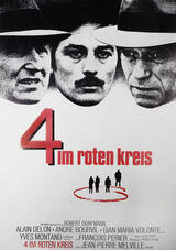 Vier im roten Kreis - Poster