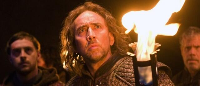 Nicolas Cage in Season the the Witch