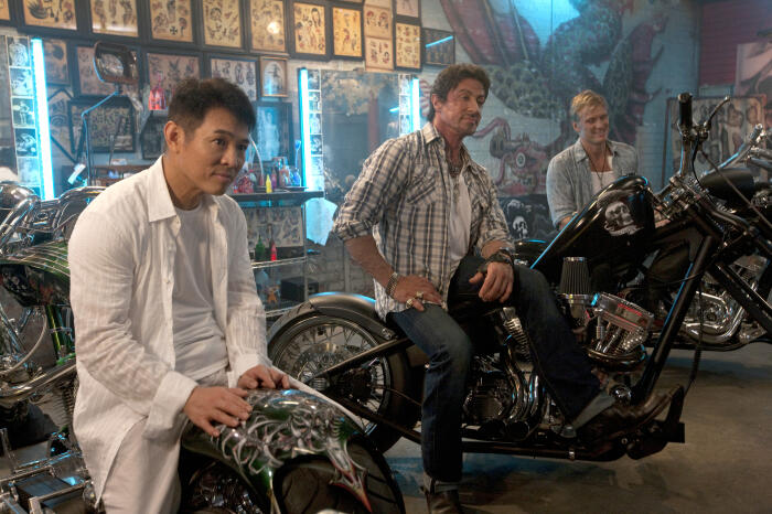 The Expendables mit Sylvester Stallone und Jet Li
