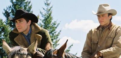 Jake Gyllenhaal und Heath Ledger in Brokeback Mountain