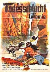 Die Todesschlucht von Laramie - Poster