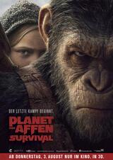 Planet der Affen: Survival - Poster