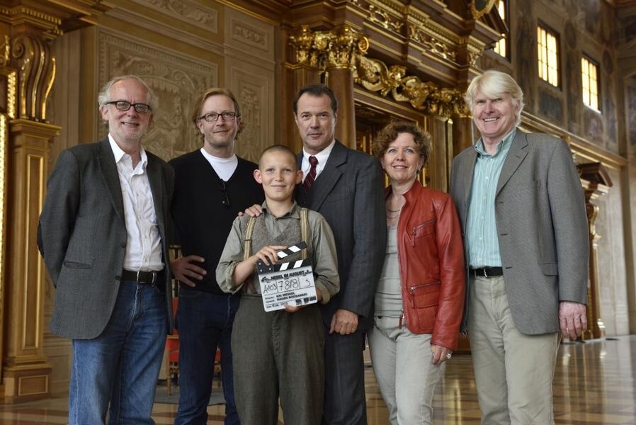 Nebel im August mit Sebastian Koch, Kai Wessel, Ulrich Limmer und Ivo Pietzcker
