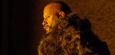 Vin Diesel in The Last Witch Hunter ohne witzige Frisur