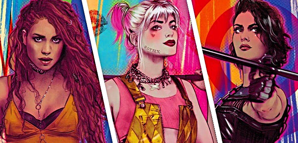 Black Canary, Harley Quinn und Huntress
