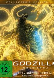 Godzilla: Zerstörer der Welt Poster