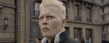 Johnny Depp in Phantastische Tierwesen: Grindelwalds Verbrechen