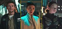 Bild zu:  Scott Eastwood, Tian Jing und Cailee Spaeny in Pacific Rim 2: Uprising