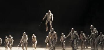 Dune: die kampfgeschulten feindlichen Sardaukar