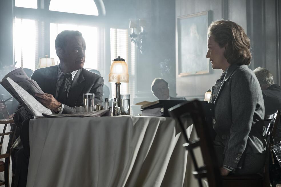 Die Verlegerin mit Tom Hanks und Meryl Streep