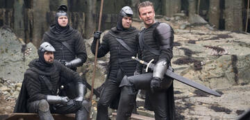 David Beckham in King Arthur: Legend of the Sword.