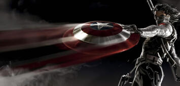 Bild zu:  Sebastian Stan als Winter Soldier in Captain America 2