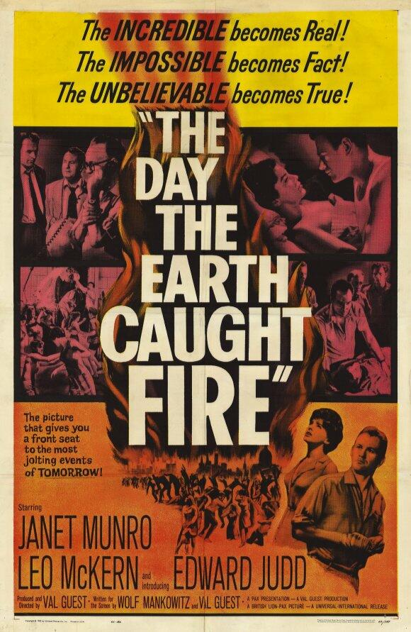 Der Tag An Dem Die Erde Feuer Fing