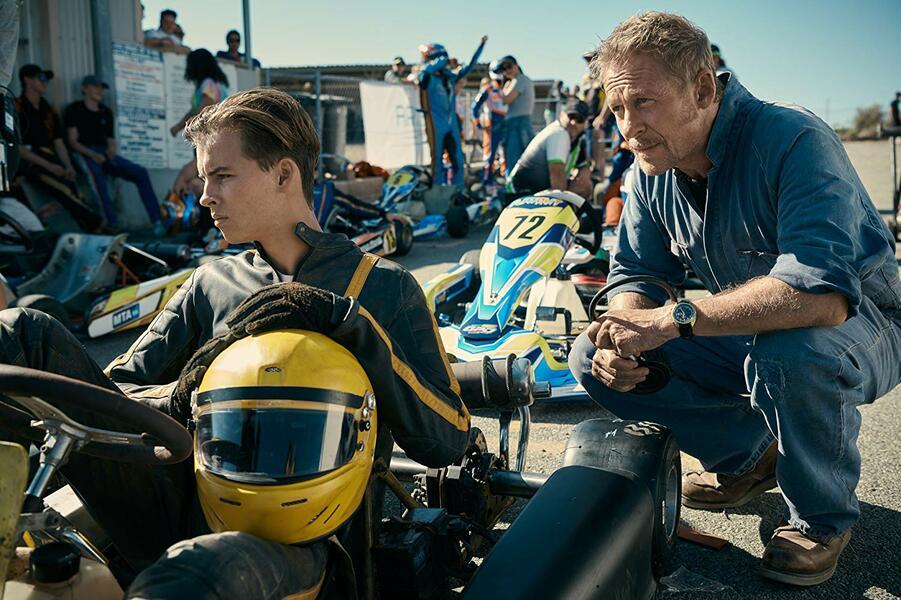 Go Karts mit Richard Roxburgh und William Lodder