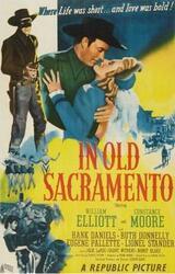 Der Bandit von Sacramento - Poster