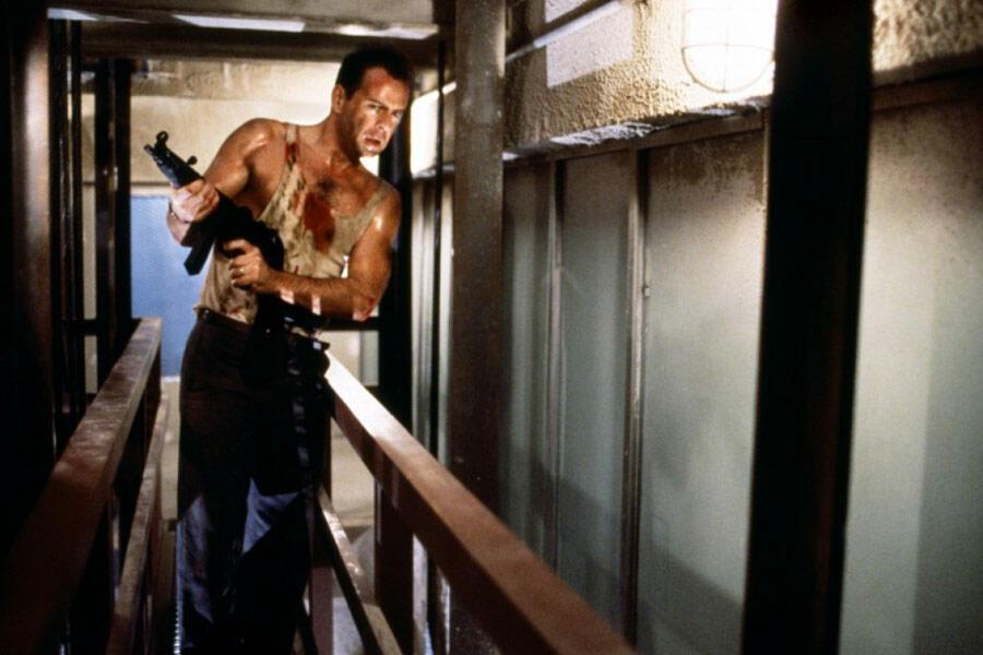 Stirb langsam mit Bruce Willis