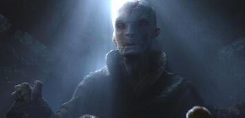 Bild zu:  Snoke in Star Wars: Episode 7