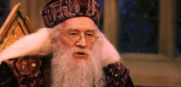 Richard Harris als Albus Dumbledore in Harry Potter