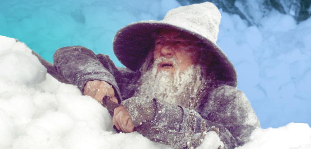 Die Herr der Ringe: Schnee und Eis in Staffel 1