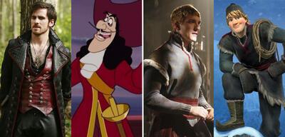Hook und Kristoff sind unter anderem bei Once Upon a Time mit dabei