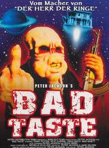 Bad Taste - Poster