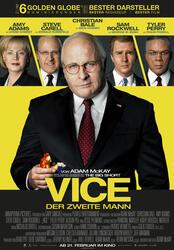 Vice - Der zweite Mann Poster