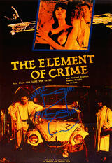 The Element of Crime - Poster